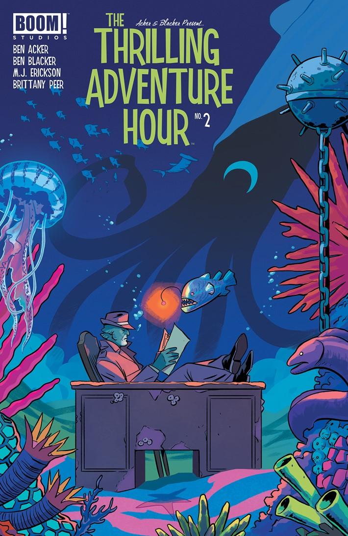 ThrillingAdventureHour_002_B_Subscription ComicList Previews: THE THRILLING ADVENTURE HOUR #2