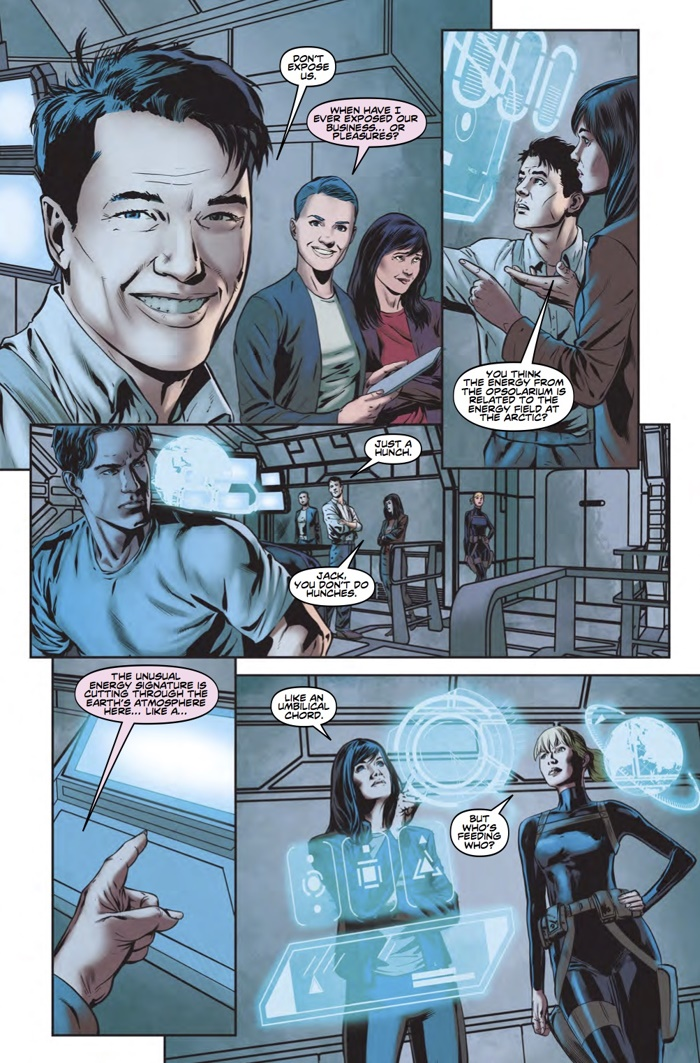 Torchwood_2_3_Pg3 ComicList Preview: TORCHWOOD 2 #3