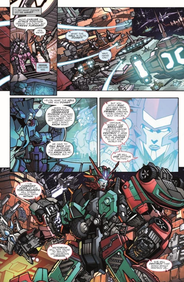 Transformers_Unicron_03-pr-6 ComicList Previews: TRANSFORMERS UNICRON #3
