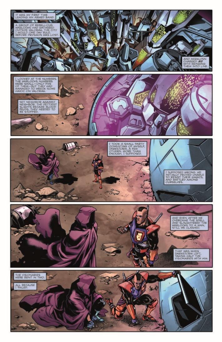 Transformers_v_Visionaries_05-pr-3 ComicList Previews: TRANSFORMERS VS VISIONARIES #5