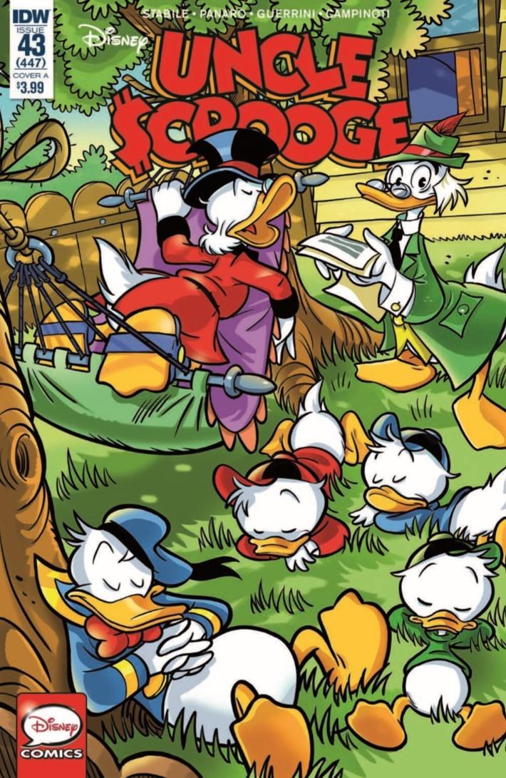 Uncle_Scrooge_43-pr-1 ComicList Previews: UNCLE SCROOGE #43