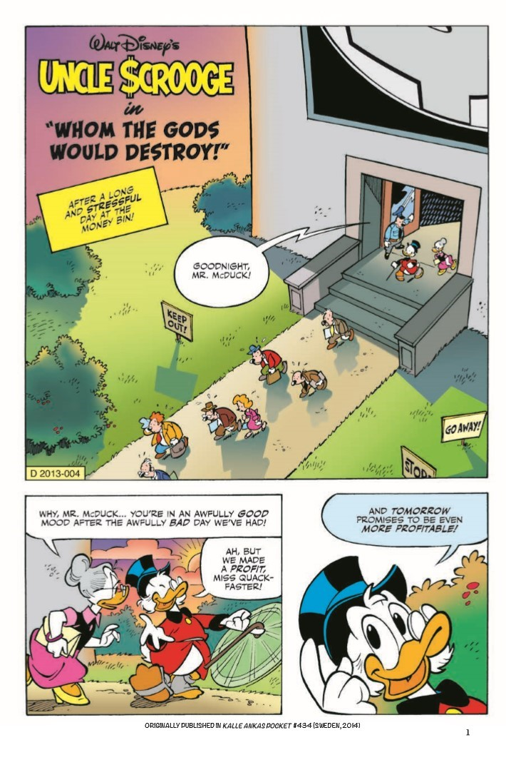 Uncle_Scrooge_Whom_the_Gods_Would_Destroy-pr-4 ComicList Previews: UNCLE SCROOGE VOLUME 11 WHOM THE GODS WOULD DESTROY TP