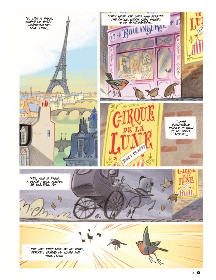 Violette_v1-pr-3 ComicList Previews: VIOLETTE AROUND THE WORLD VOLUME 1 MY HEAD IN THE CLOUDS HC