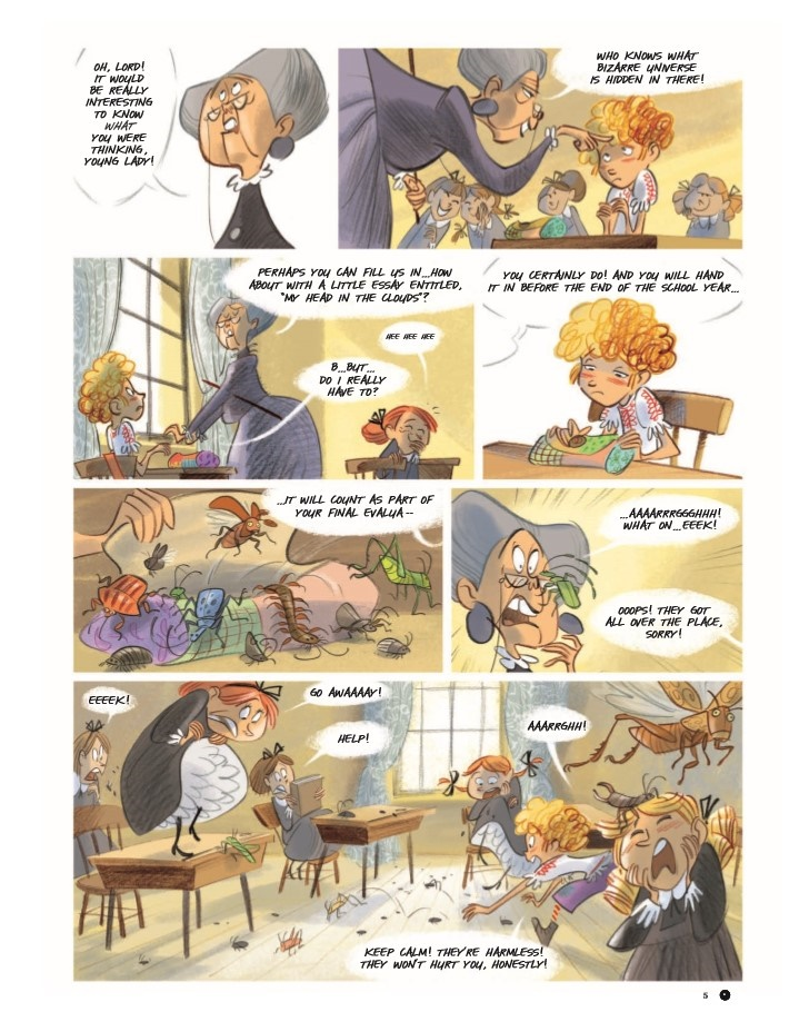 Violette_v1-pr-5 ComicList Previews: VIOLETTE AROUND THE WORLD VOLUME 1 MY HEAD IN THE CLOUDS HC