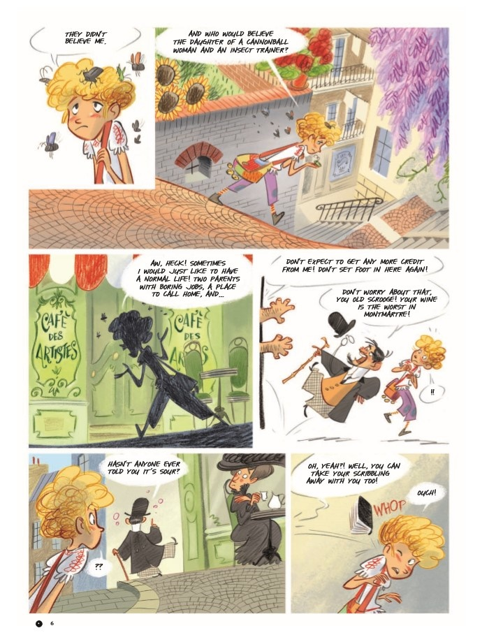 Violette_v1-pr-6 ComicList Previews: VIOLETTE AROUND THE WORLD VOLUME 1 MY HEAD IN THE CLOUDS HC