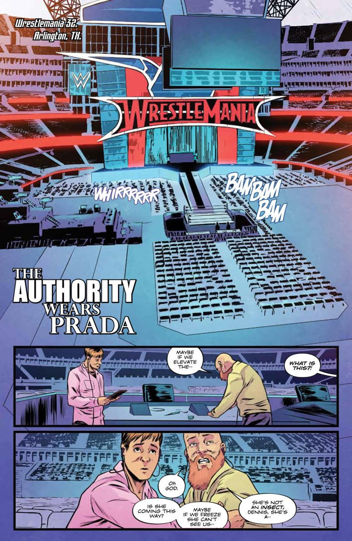 WWEThenNowForever_v3_SC_PRESS_47 ComicList Previews: WWE THEN NOW FOREVER VOLUME 3 TP