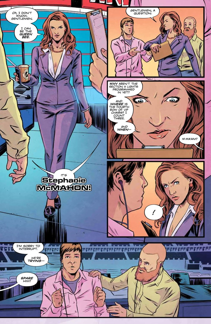WWEThenNowForever_v3_SC_PRESS_48 ComicList Previews: WWE THEN NOW FOREVER VOLUME 3 TP
