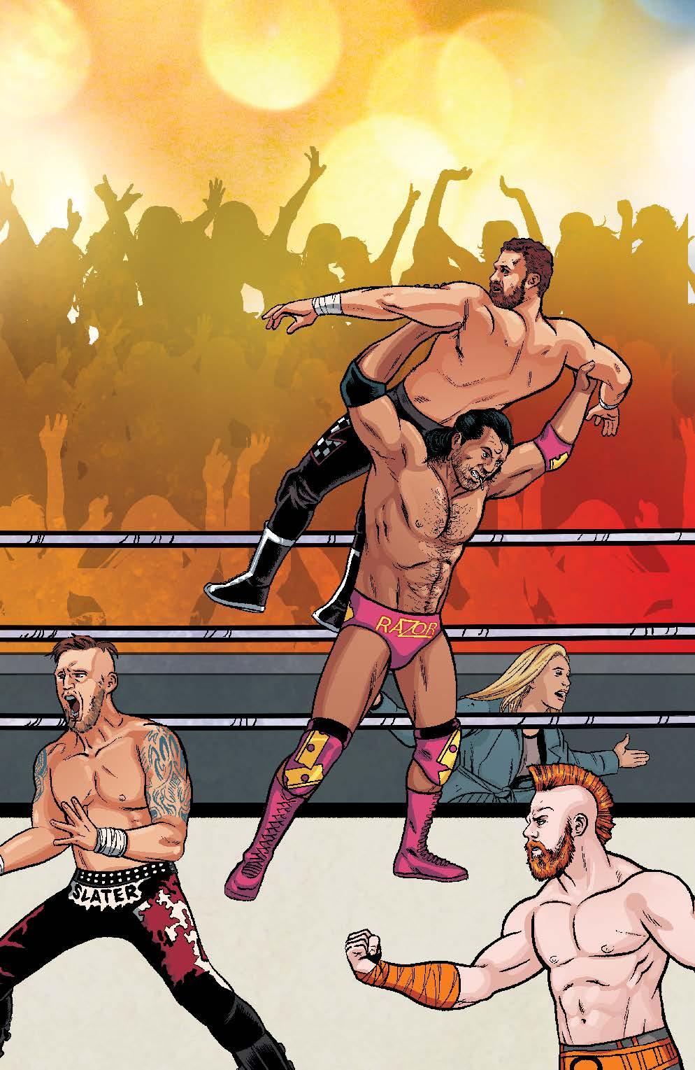 WWE_003_F_RoyalRumble ComicList Preview: WWE #3