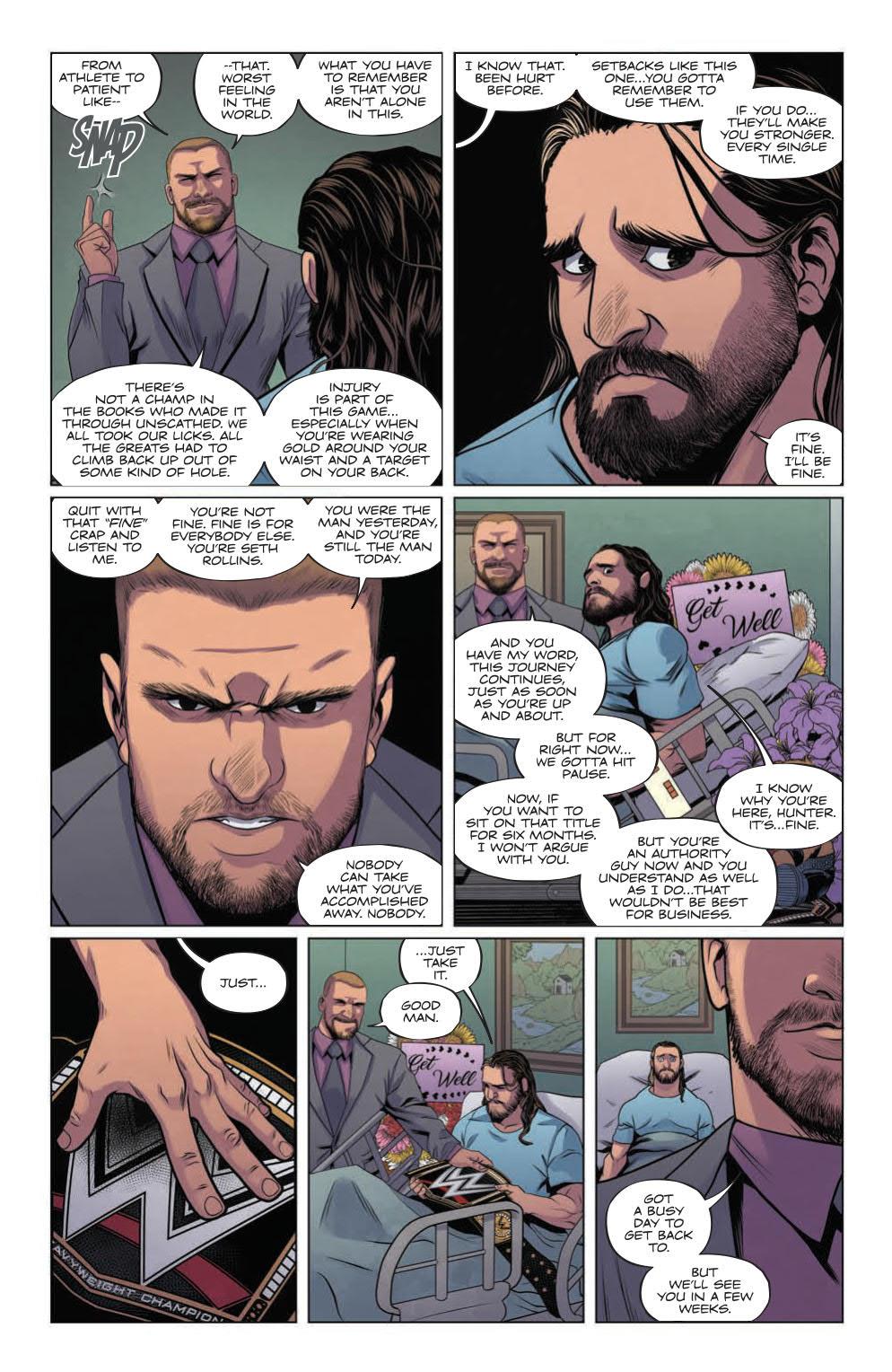 WWE_003_PRESS_7 ComicList Preview: WWE #3