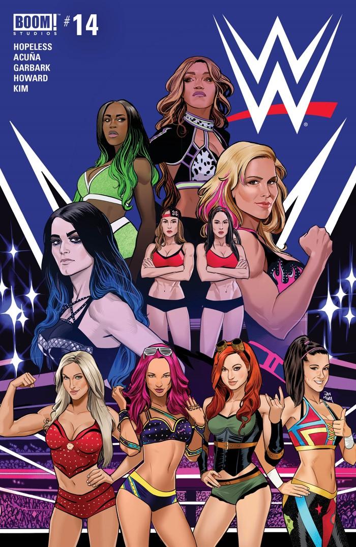 WWE_014_A_Main ComicList Previews: WWE #14
