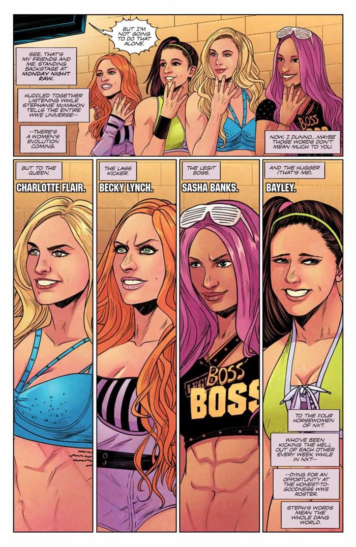 WWE_014_PRESS_4 ComicList Previews: WWE #14