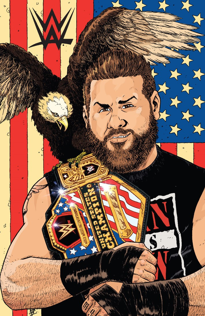 WWE_015_Cover_D_Variant ComicList Previews: WWE #15