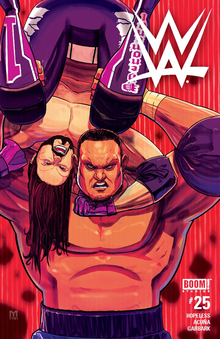 WWE_025_A_Main ComicList Previews: WWE #25
