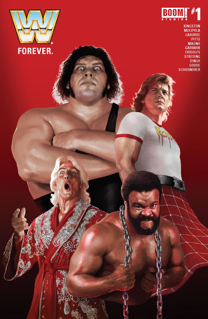 WWE_Forever2019_A_Main ComicList Previews: WWE FOREVER #1