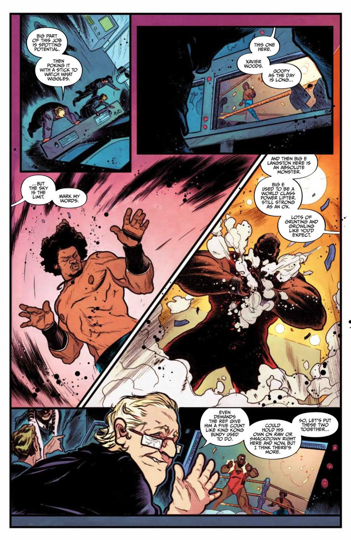 WWE_NXTTakeover_SC_PRESS_17 ComicList Previews: WWE NXT TAKEOVER TP