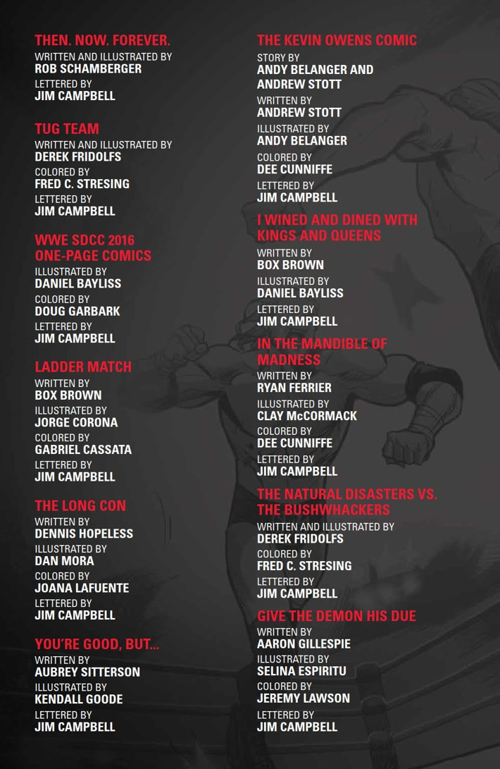 WWE_ThenNowForever_v1_PRESS_5 ComicList Previews: WWE THEN NOW FOREVER VOLUME 1 TP