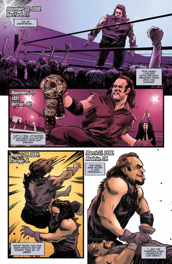 WWE_ThenNowForever_v1_PRESS_75 ComicList Previews: WWE THEN NOW FOREVER VOLUME 1 TP
