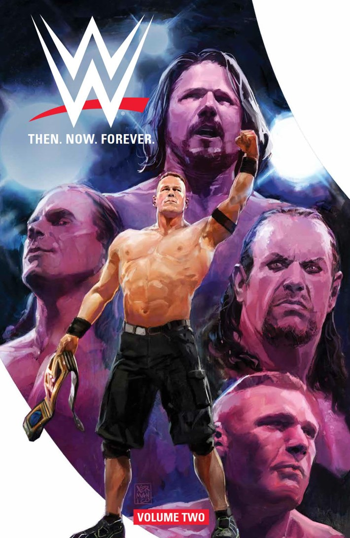 WWE_ThenNowForever_v2_SC_PRESS_1 ComicList Previews: WWE THEN NOW FOREVER VOLUME 2 TP