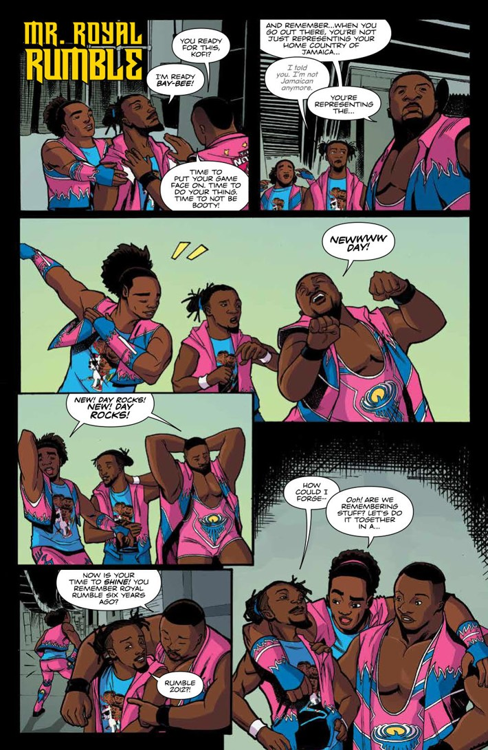 WWE_ThenNowForever_v2_SC_PRESS_61 ComicList Previews: WWE THEN NOW FOREVER VOLUME 2 TP