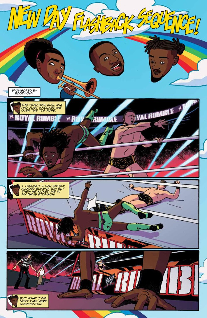 WWE_ThenNowForever_v2_SC_PRESS_62 ComicList Previews: WWE THEN NOW FOREVER VOLUME 2 TP