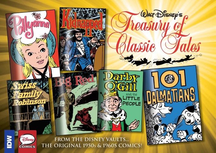 WaltDisney_Treasury_Classics_vol3-pr-1 ComicList Previews: WALT DISNEY'S TREASURY OF CLASSIC TALES VOLUME 3 HC