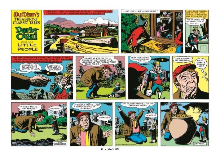 WaltDisney_Treasury_Classics_vol3-pr-3 ComicList Previews: WALT DISNEY'S TREASURY OF CLASSIC TALES VOLUME 3 HC