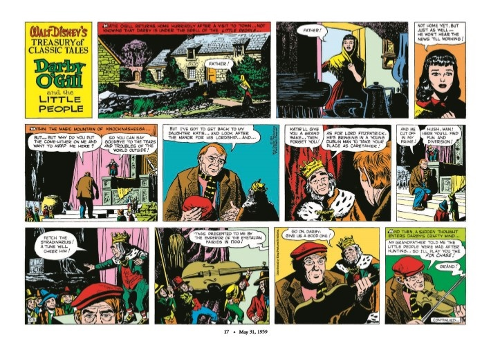 WaltDisney_Treasury_Classics_vol3-pr-7 ComicList Previews: WALT DISNEY'S TREASURY OF CLASSIC TALES VOLUME 3 HC