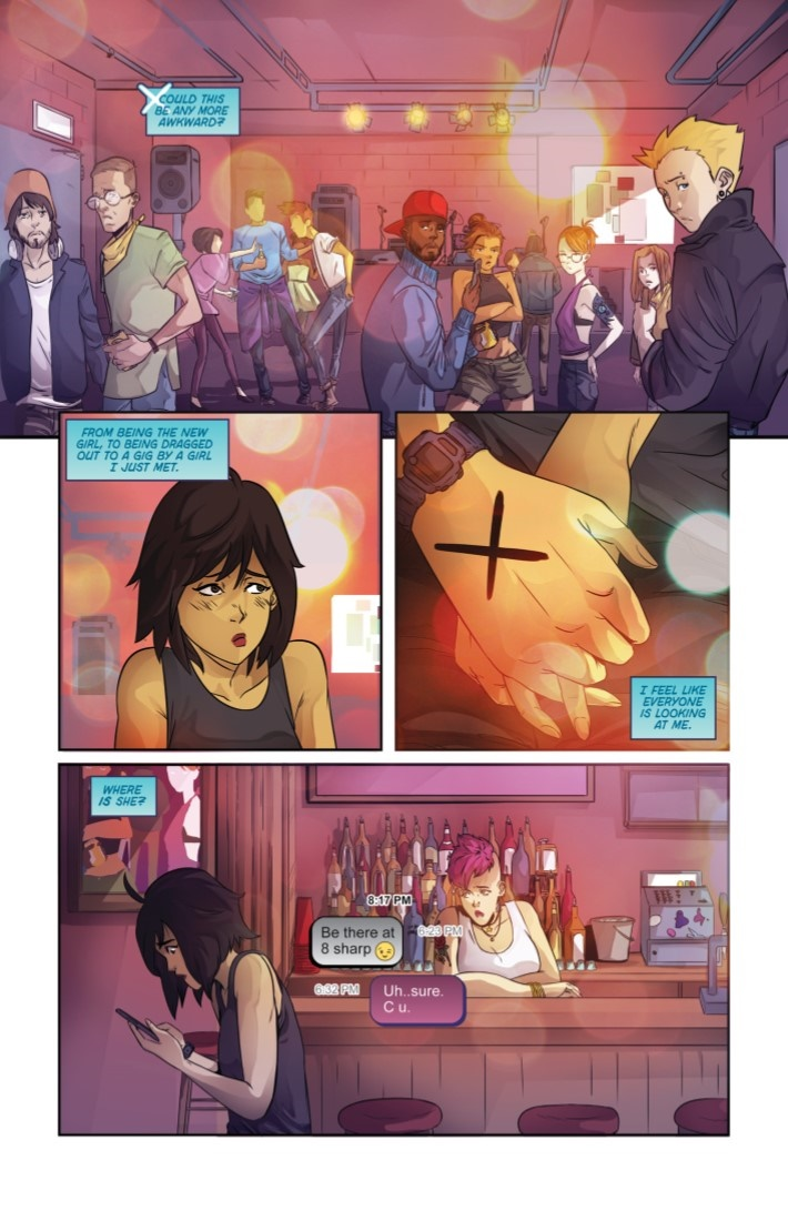WeAreTheDanger-01-03 ComicList Previews: WE ARE THE DANGER #1