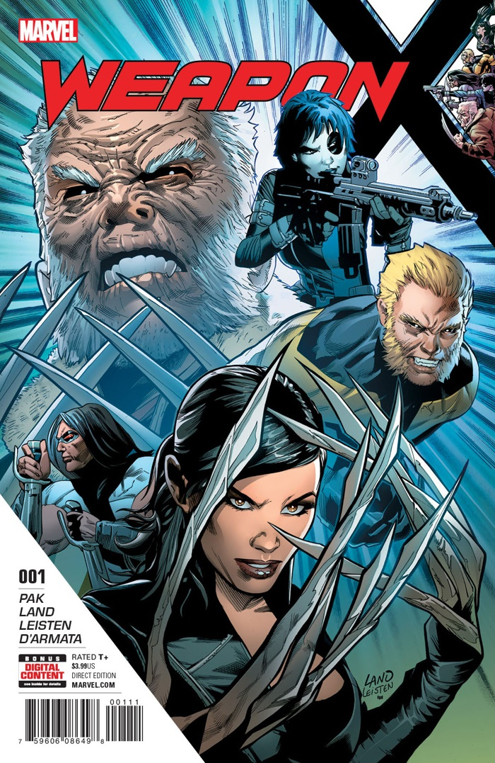 Weapon_X_1_Cover ComicList Preview: WEAPON X #1
