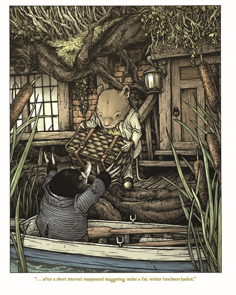 WitWillowsHC-pr-6 ComicList Preview: THE WIND IN THE WILLOWS HC