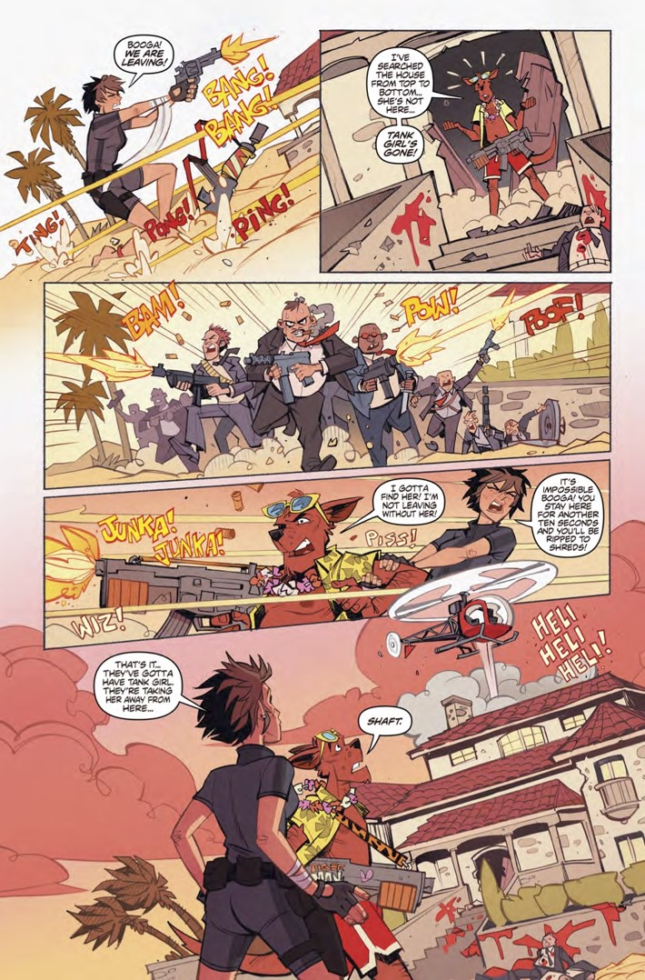 Wonderful_World_of_Tank_Girl_collection_pg3 ComicList Previews: THE WONDERFUL WORLD OF TANK GIRL TP