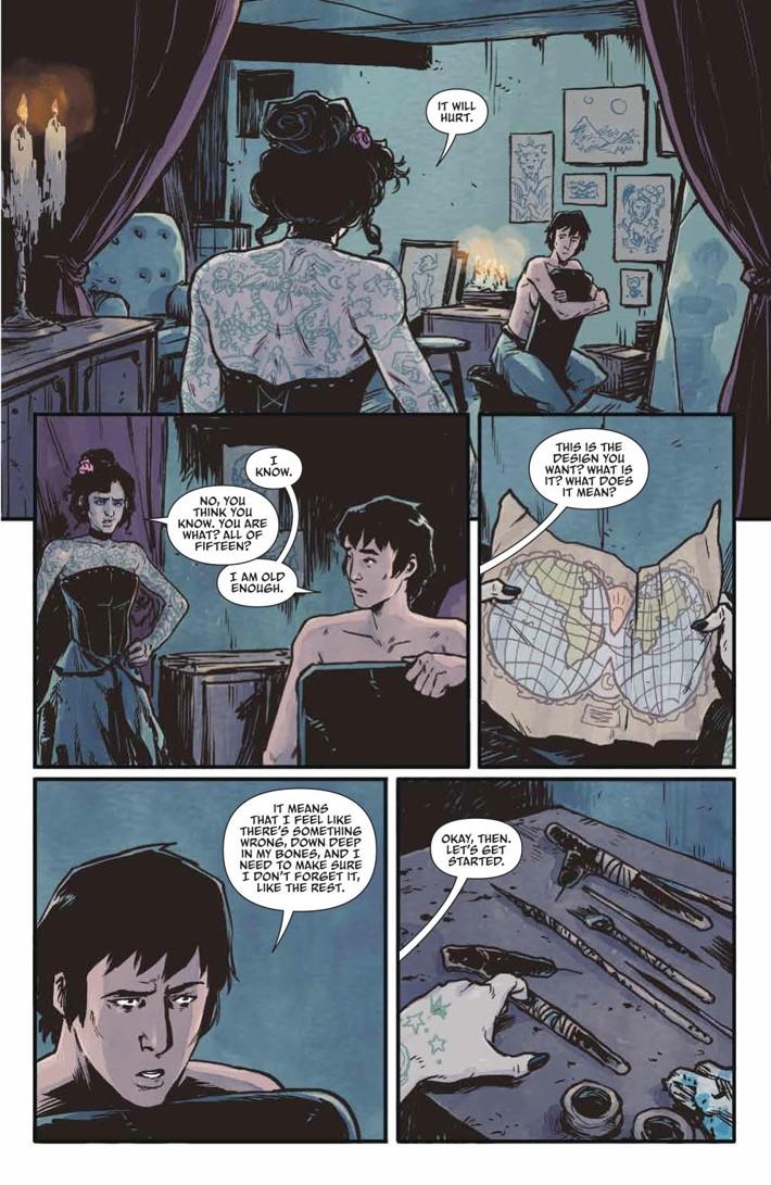 Woods_v9_SC_PRESS_11 ComicList Previews: THE WOODS VOLUME 9 TP