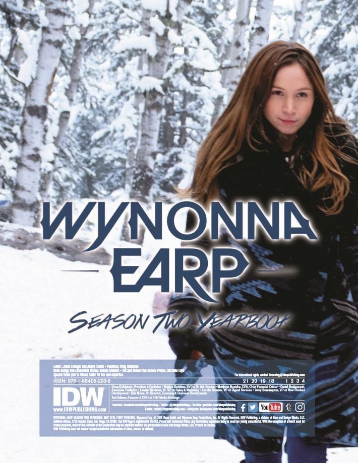 WynonnaEarp_Yearbook_Season2-pr-2 ComicList Previews: WYNONNA EARP YEARBOOK SEASON 2 TP