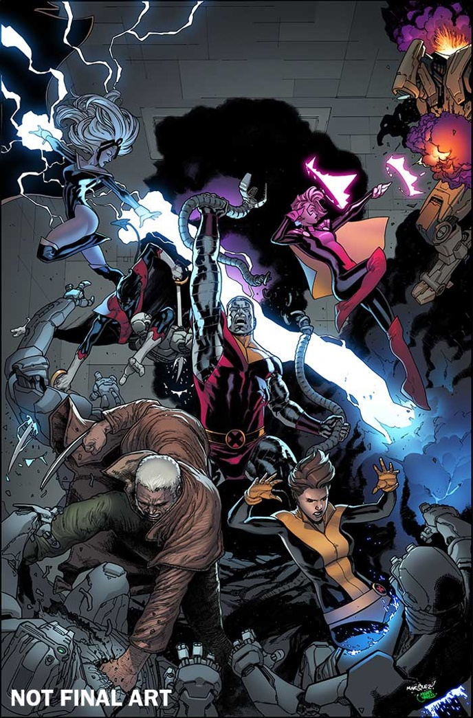 X-Men_Gold_1_Marquez_Variant_NOT_FINAL ComicList Preview: X-MEN GOLD #1
