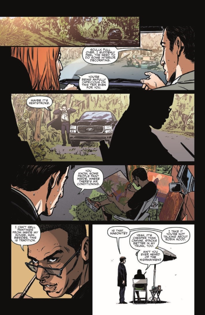 XFiles_CaseFiles_Florida_Man_01-pr-5 ComicList Previews: THE X-FILES CASE FILES FLORIDA MAN #1