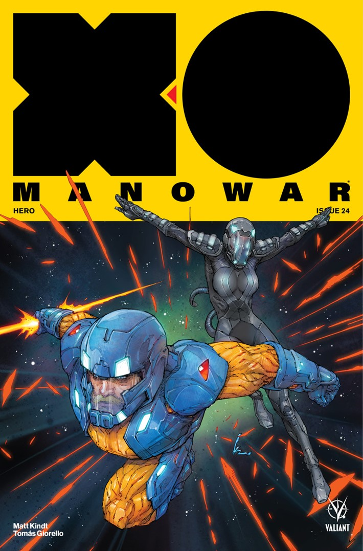 XO-Cover-A ComicList Previews: X-O MANOWAR #24