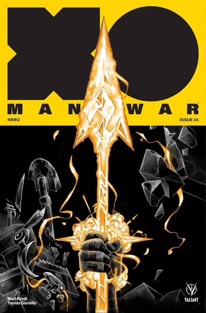 XO-Cover-C ComicList Previews: X-O MANOWAR #24