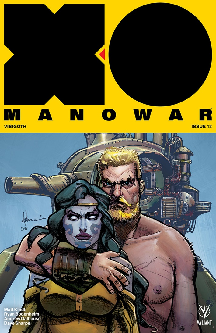 XO2017_013_VARIANT-ICON_CHAYKIN ComicList Previews: X-O MANOWAR (2017) #13