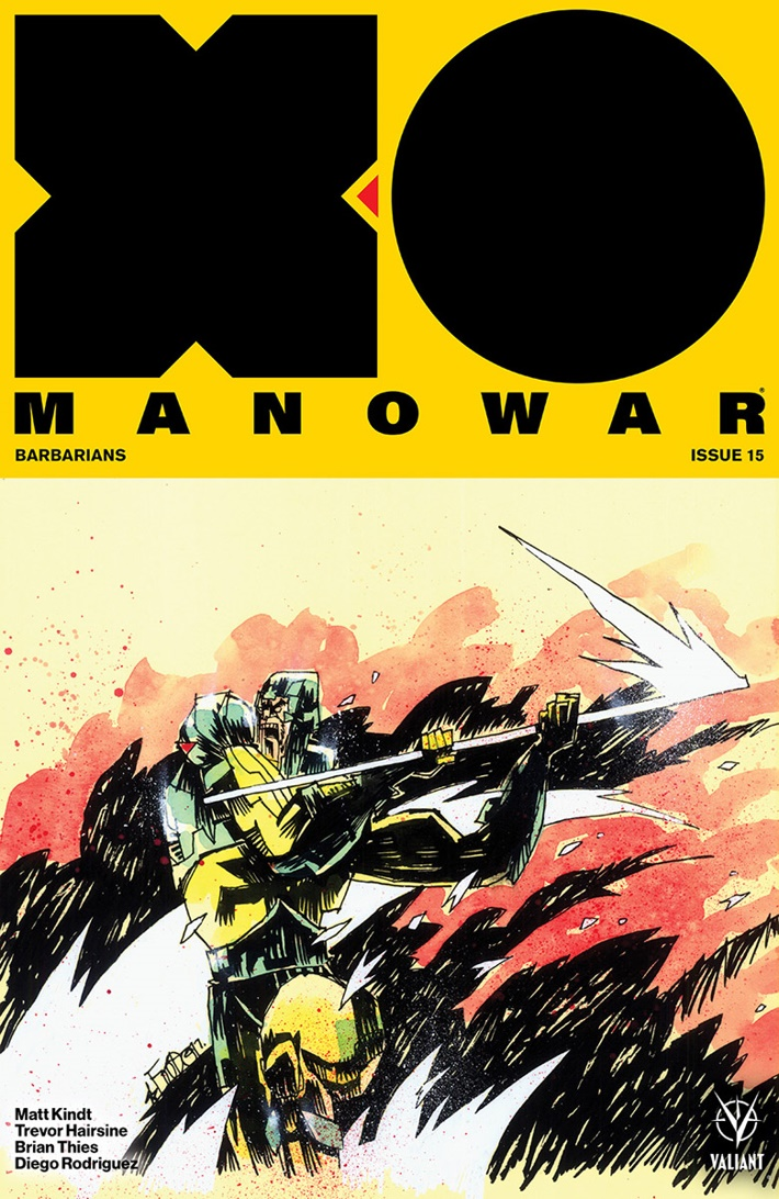 XO2017_015_COVER-B_MAHFOOD ComicList Previews: X-O MANOWAR (2017) #15