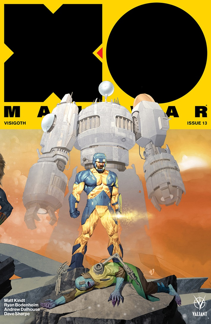XO2017_VARIANT-INTERLOCKING_OLIVETTI ComicList Previews: X-O MANOWAR (2017) #13