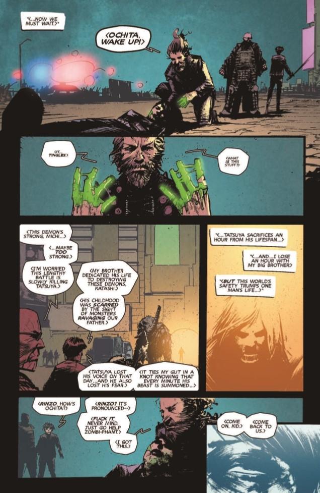 YDK_04-pr-5 ComicList Preview: YAKUZA DEMON KILLERS #4