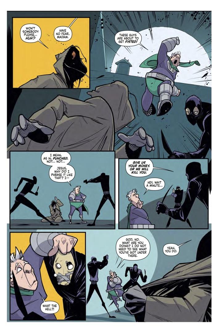 supermansion_2_Pg3 ComicList Previews: SUPERMANSION #2