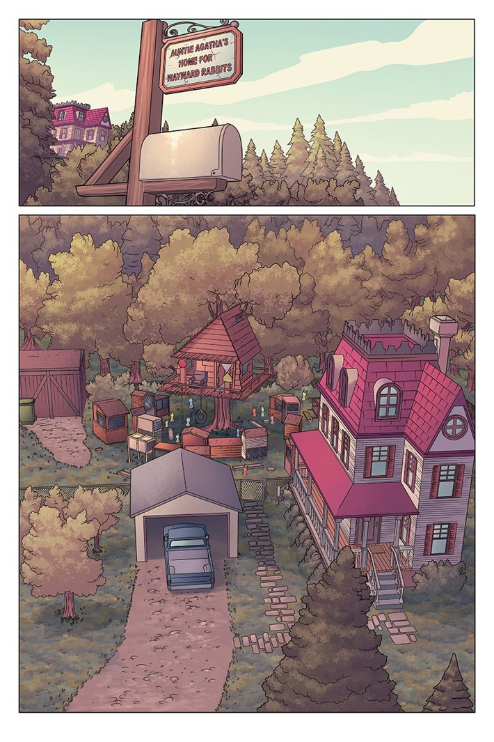unnamed_(20) ComicList Previews: AUNTIE AGATHA'S HOME FOR WAYWARD RABBITS #1