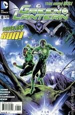 1109997 Geek Goggle Reviews: Green Lantern #8