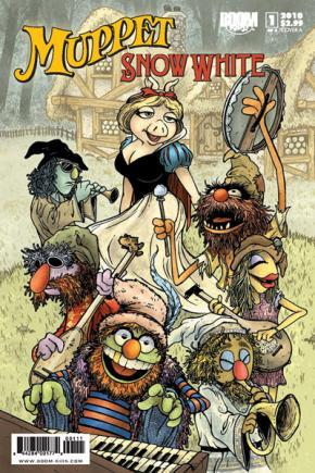 MuppetSnowWhite_01_CVRA Geek Goggle Reviews: Muppet Snow White #1