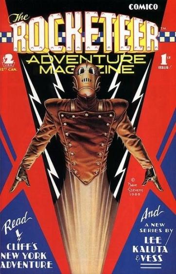 Rocketeer_adventure Rocketeer Adventure Magazine #1 and #2 REVIEW