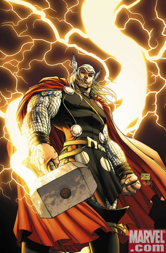 Thor01CvrTurner Thor #1 Gains A New Ally-- Michael Turner!