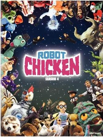 review robot chicken season 4 on dvd comicmix