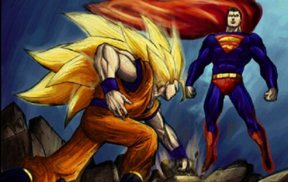 goku vs supemann