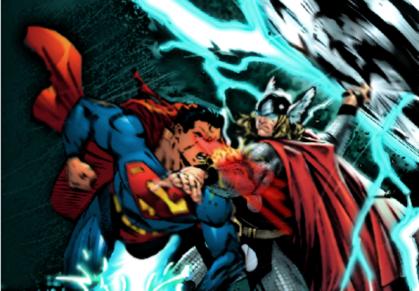 Superman verus thor